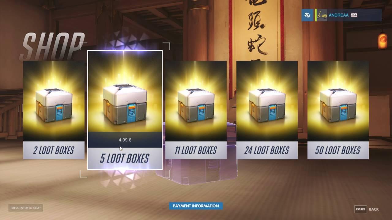 Le Loot Box: il Gioco d'Azzardo si insidia nel mondo dei Videogames.